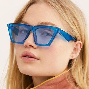 NEW Free People Amsterdam cat eye sunglasses